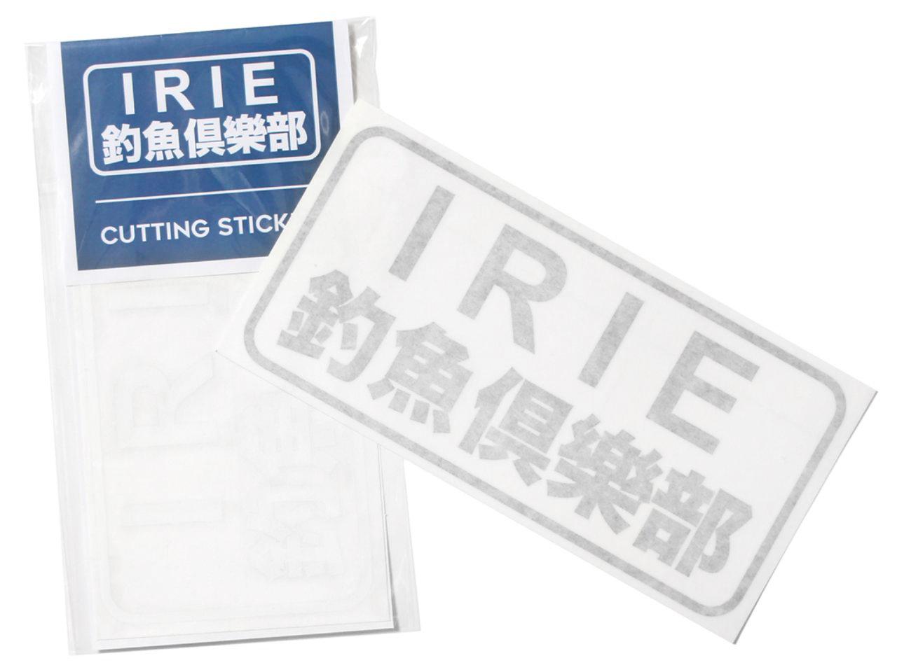 釣魚倶楽部 CUTTING STICKER -IRIE FISHING CLUB-