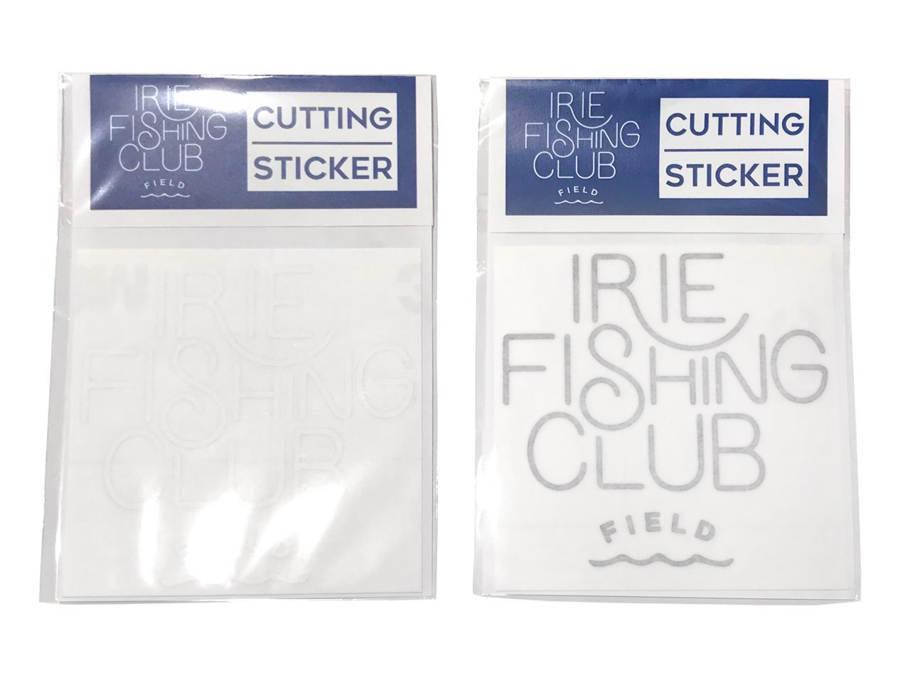I.F.C SMALL LOGO CUTTING STICKER【S】 -IRIE FISHING CLUB-