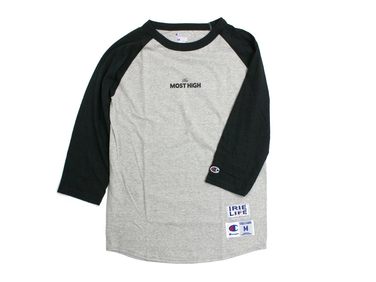 x Champion MOST HIGH 3/4 SLEEVE TEE -IRIE LIFE-