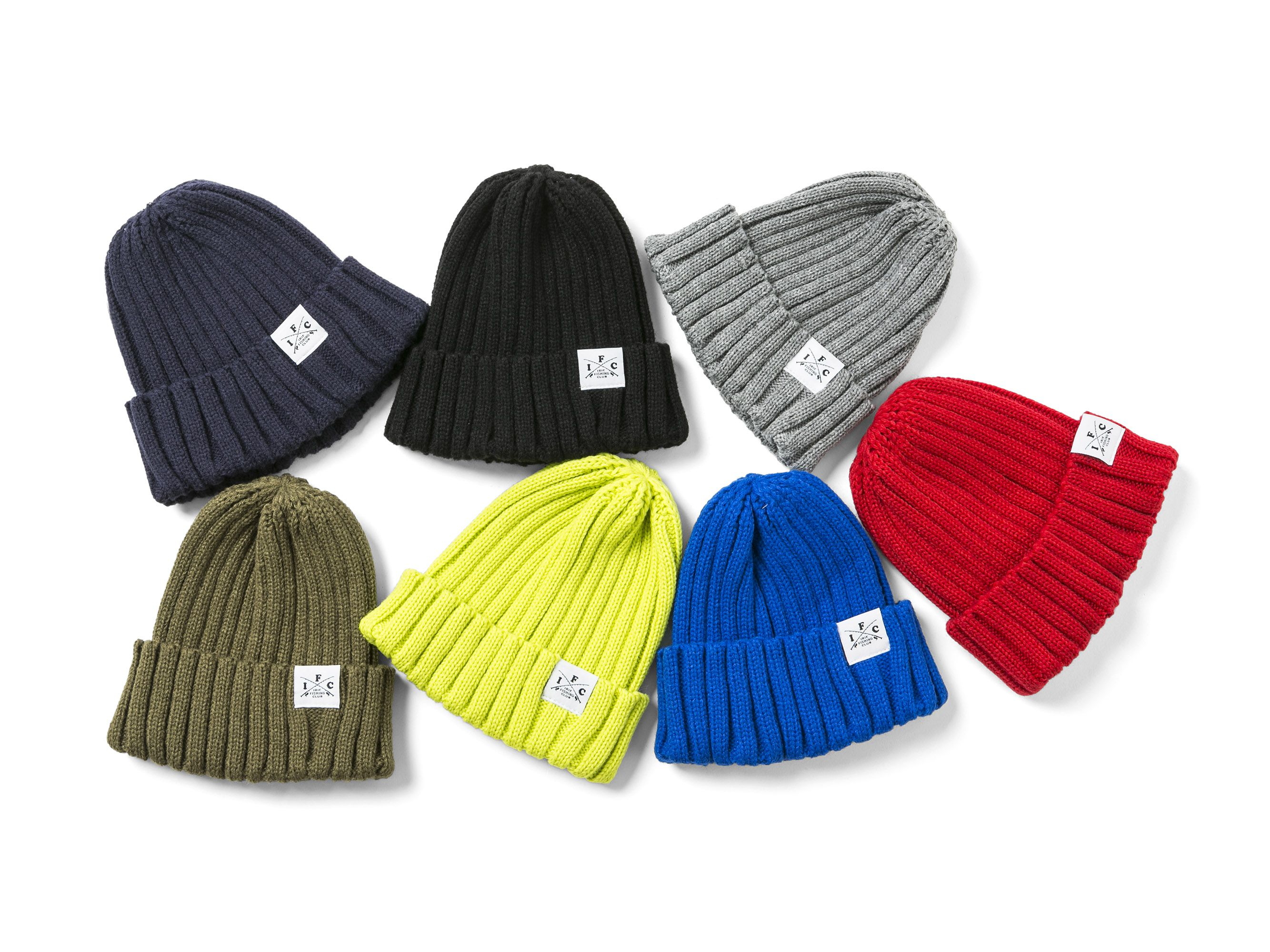 【再入荷】CROSS ROD KNIT CAP - IRIE FISHING CLUB