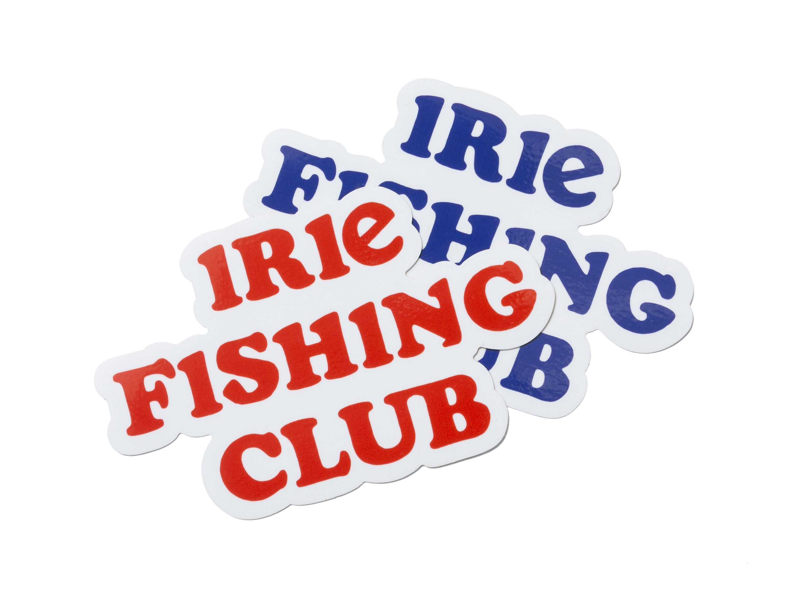 I.F.C WATER PROOF STICKER 20SS -IRIE FISHING CLUB-