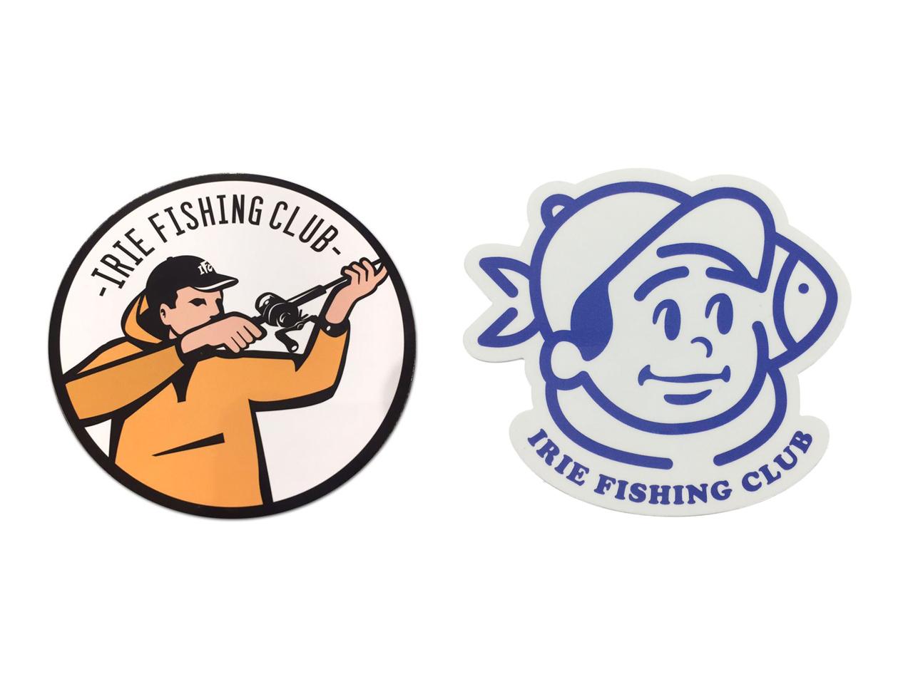 I.F.C ICON WATERPROOF STICKER -IRIE FISHING CLUB-