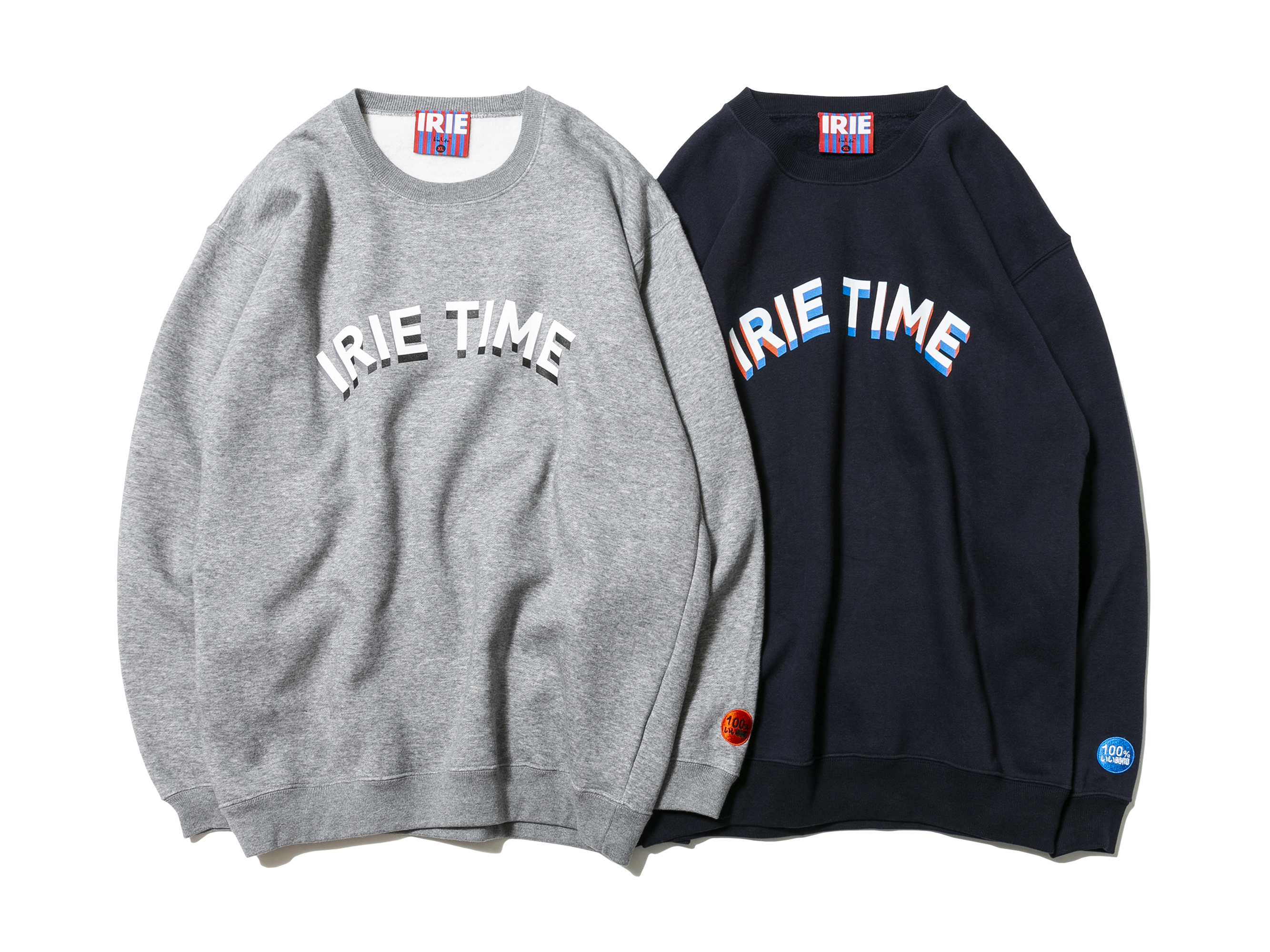 【20% OFF】IRIE TIME CREW - IRIE by irielife