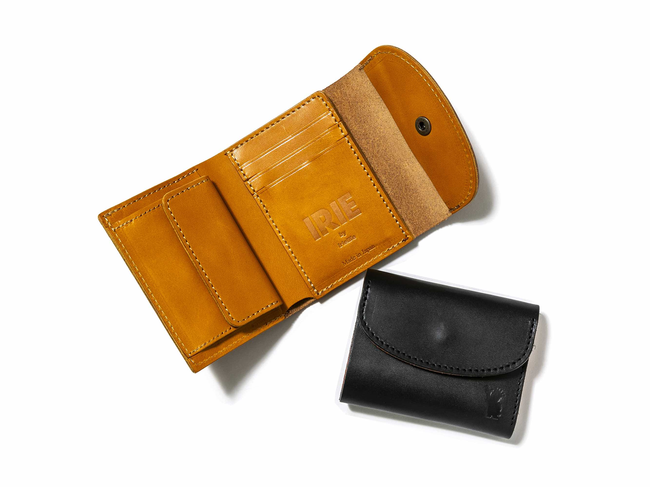 IRIE FOLDING LEATHER WALLET - IRIE by irielife