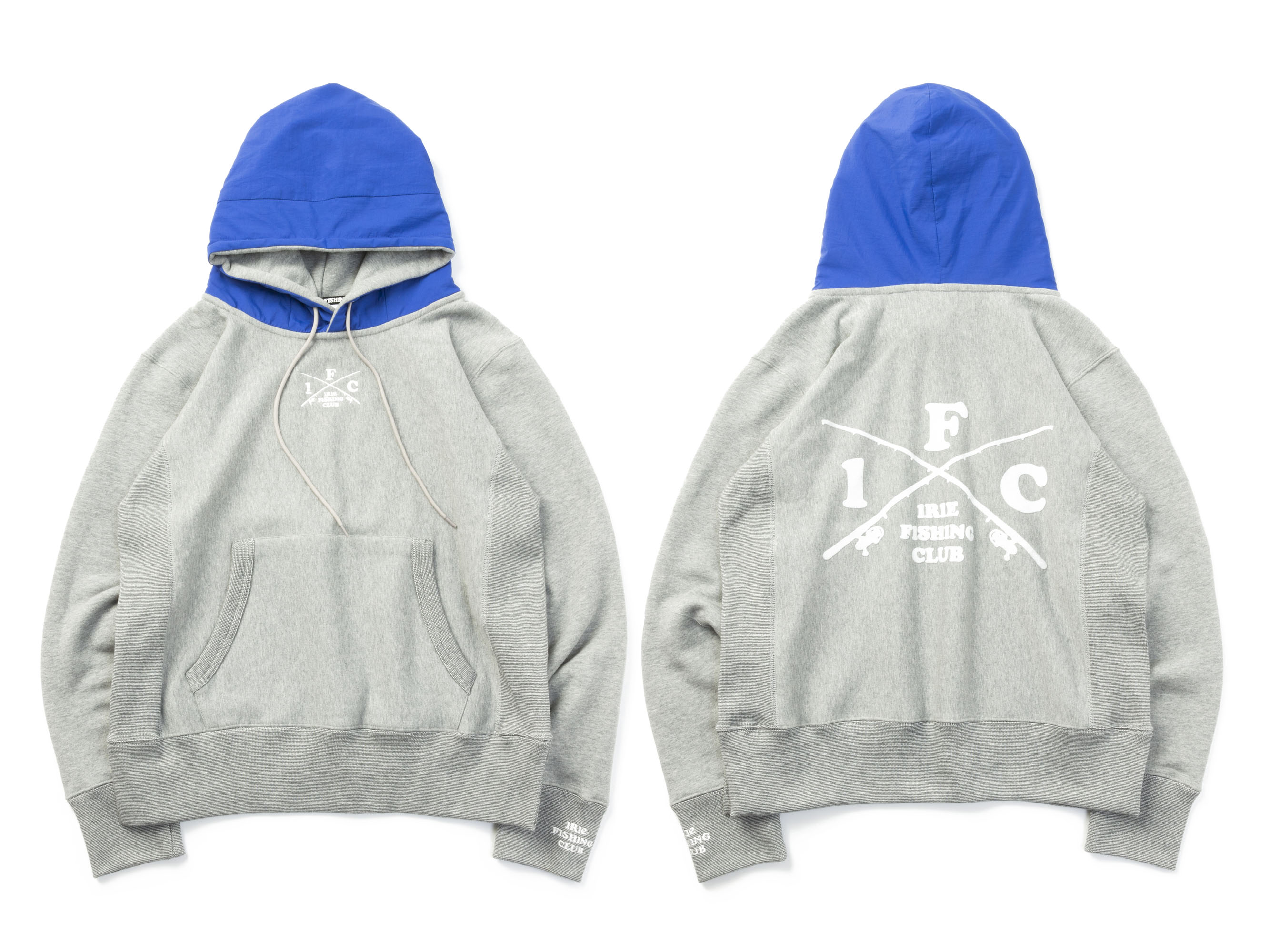 CROSS ROD NYLON HOODIE - IRIE FISHING CLUB