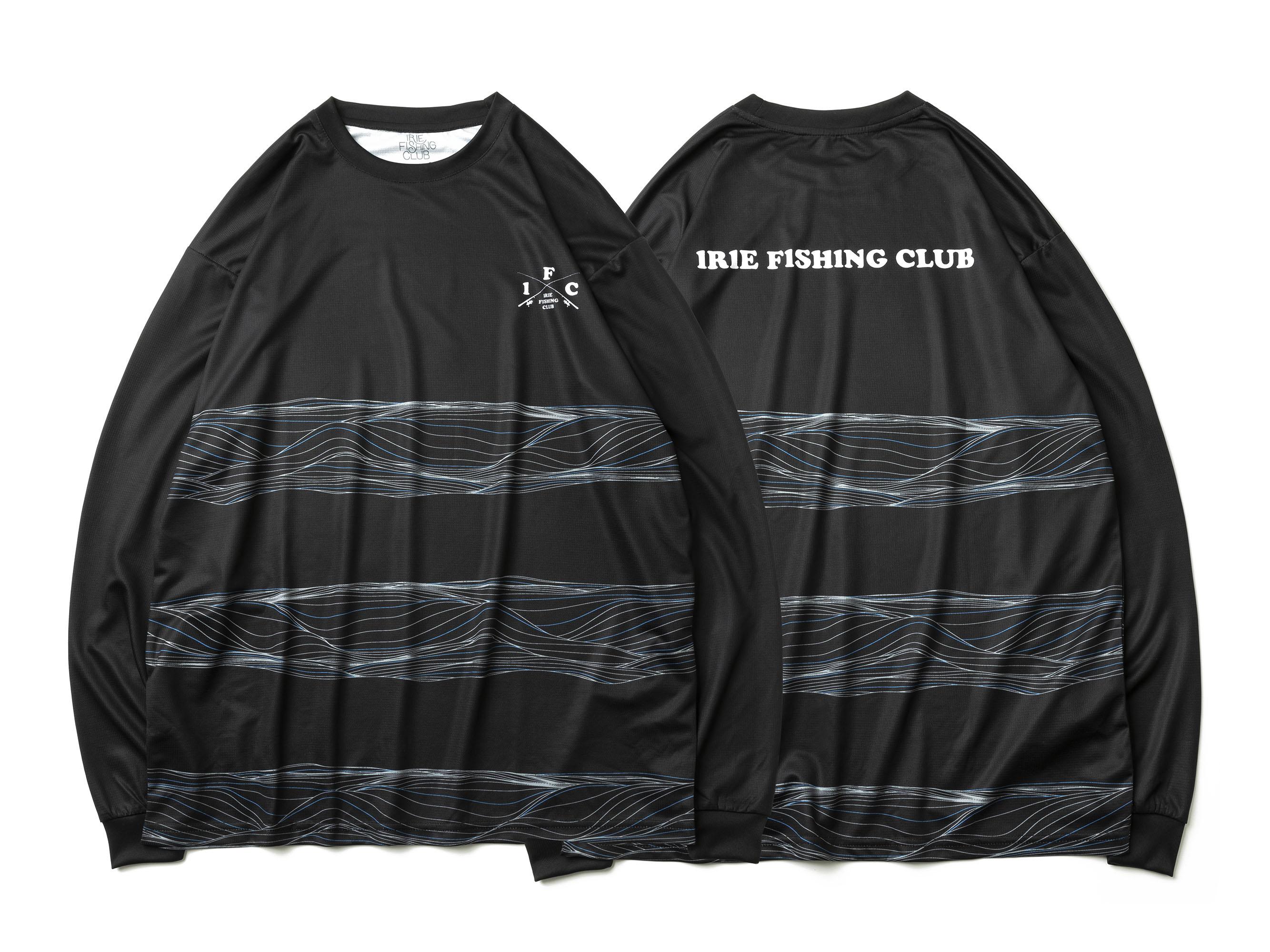 I.F.C DRY MESH L/S TEE - IRIE FISHING CLUB