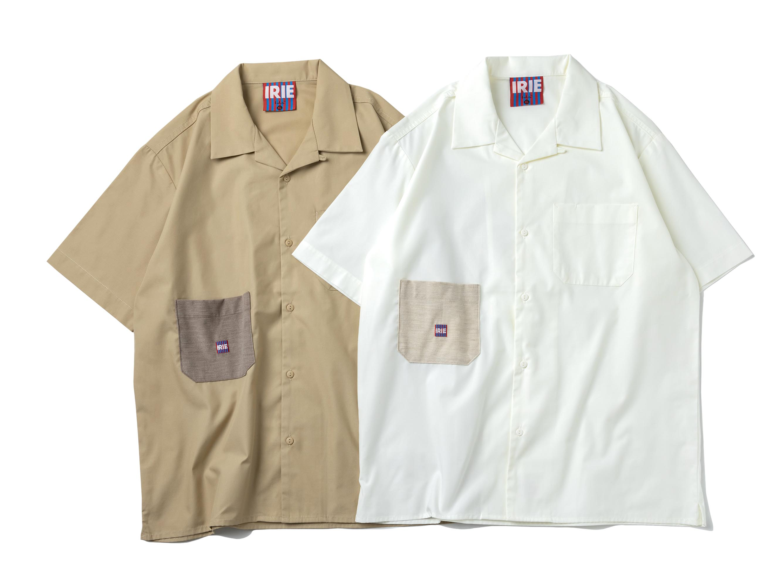 CORDUROY POCKET S/S SHIRT - IRIE by irielife
