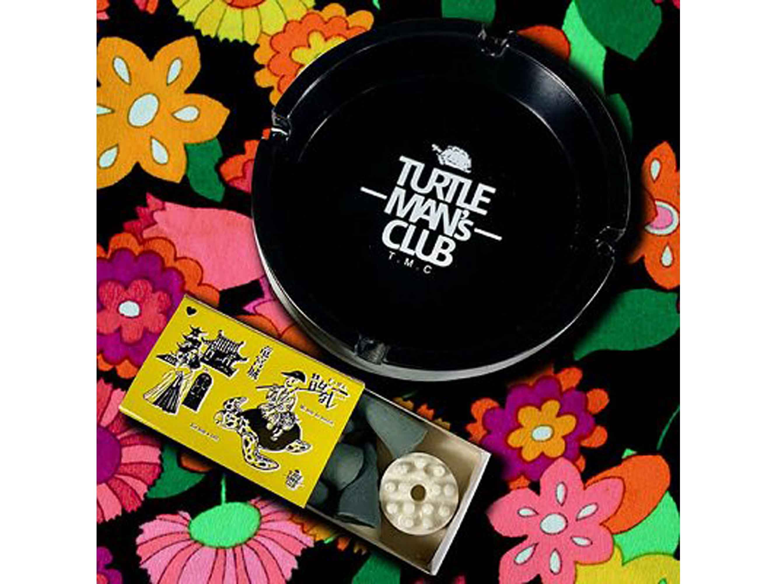 超特典おまけCD「ジャパニーズレガエ3」&ステッカー付き 灰皿&マッチ箱入りお香セット - TURTLEMAN'S CLUB