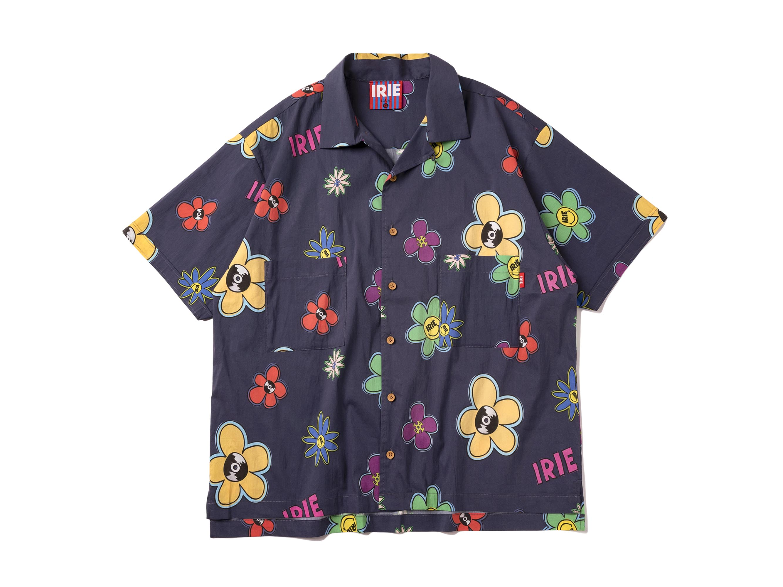 IRIE FLOWER ALOHA SHIRT - IRIE by irielife