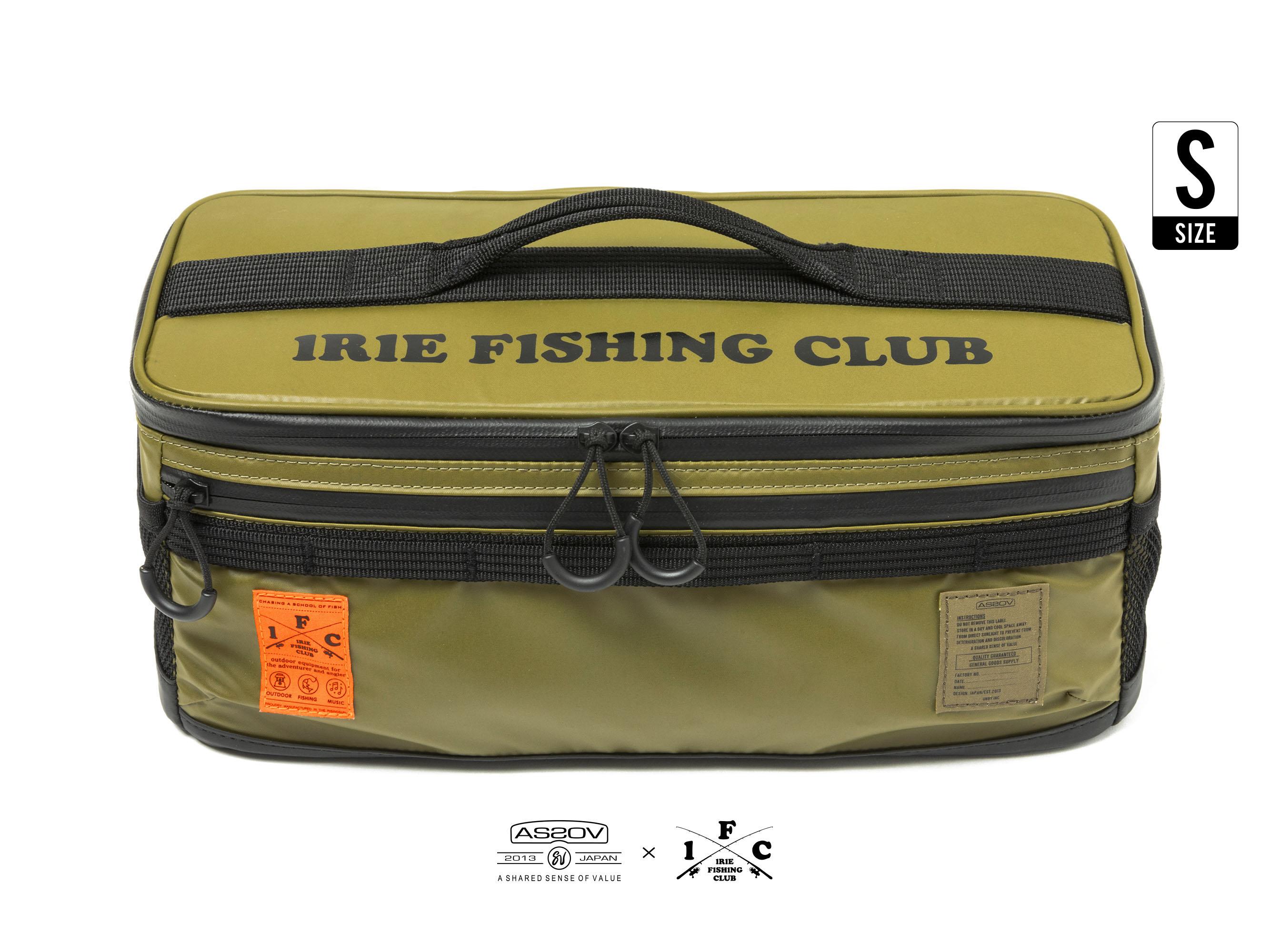 ×AS2OV NYLON POLYCARBONATE CONTAINER BOX(S) - IRIE FISHING CLUB