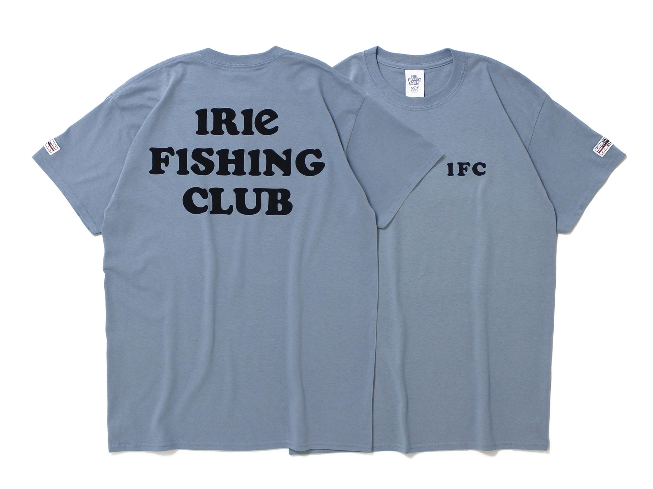 TEXT LOGO TEE - IRIE FISHING CLUB