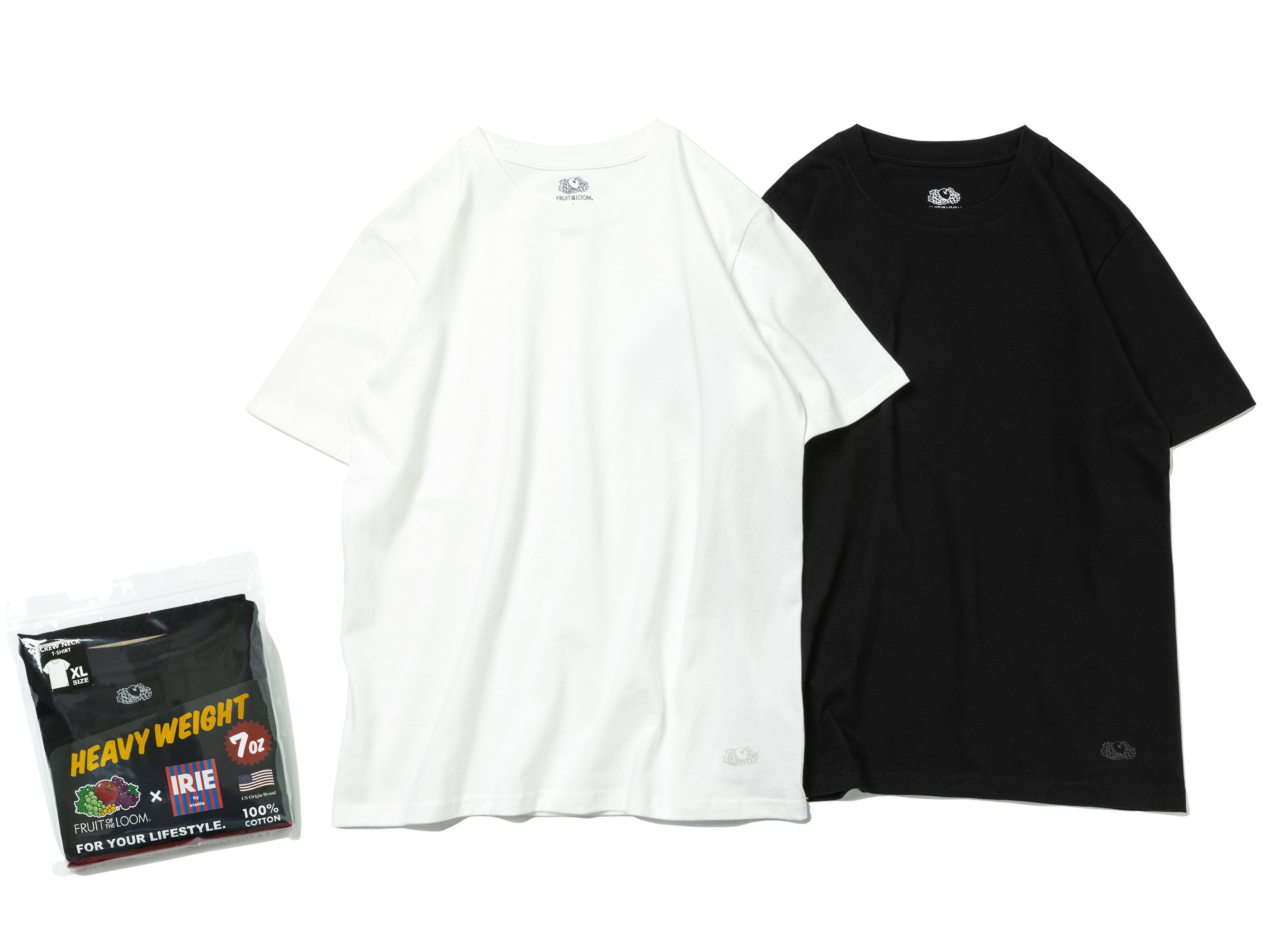× FRUIT OF THE LOOM PACK TEE - IRIE by irielife