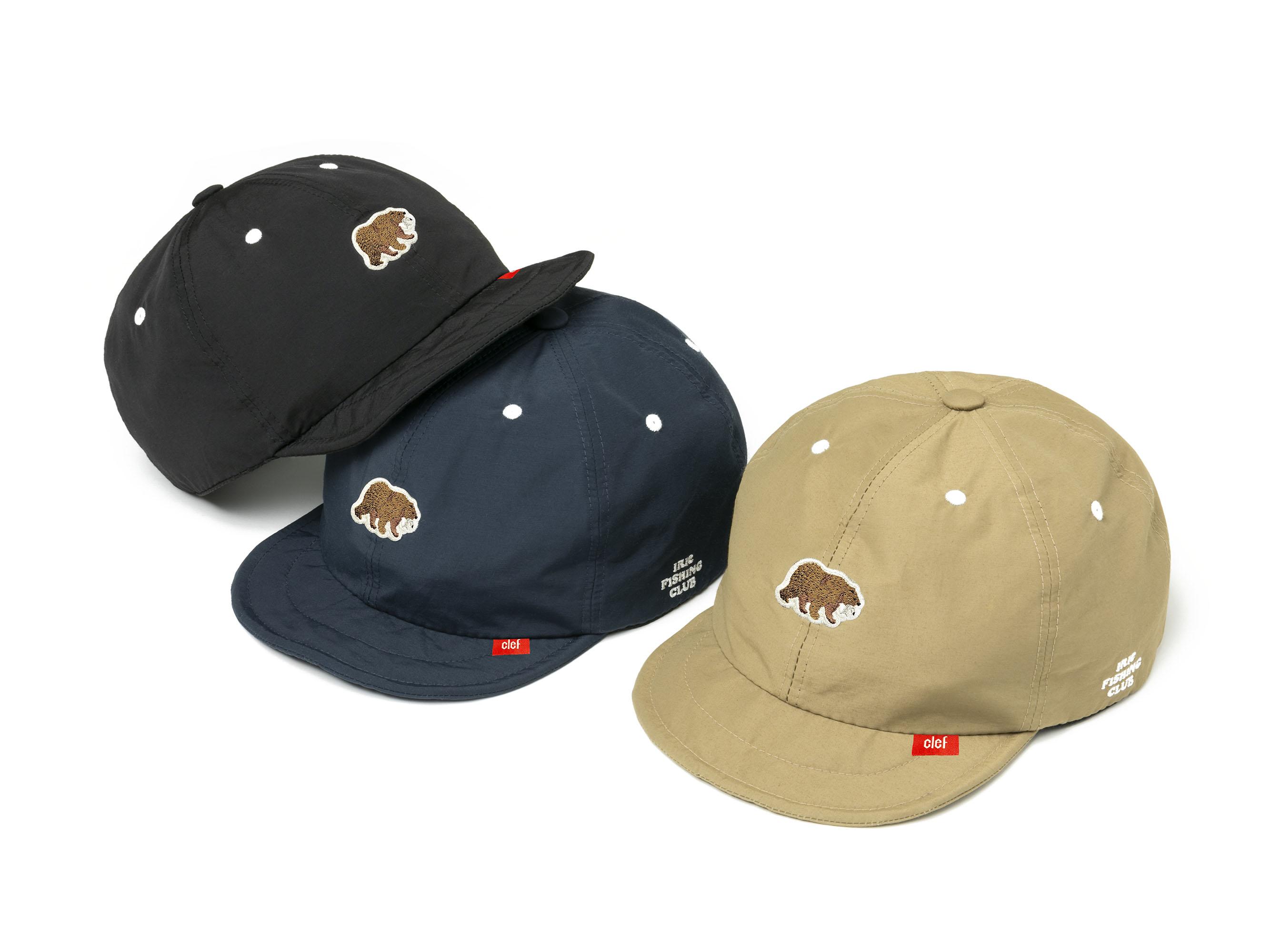 ×CLEF I.F.C BEAR 60/40 B.CAP - IRIE FISHING CLUB