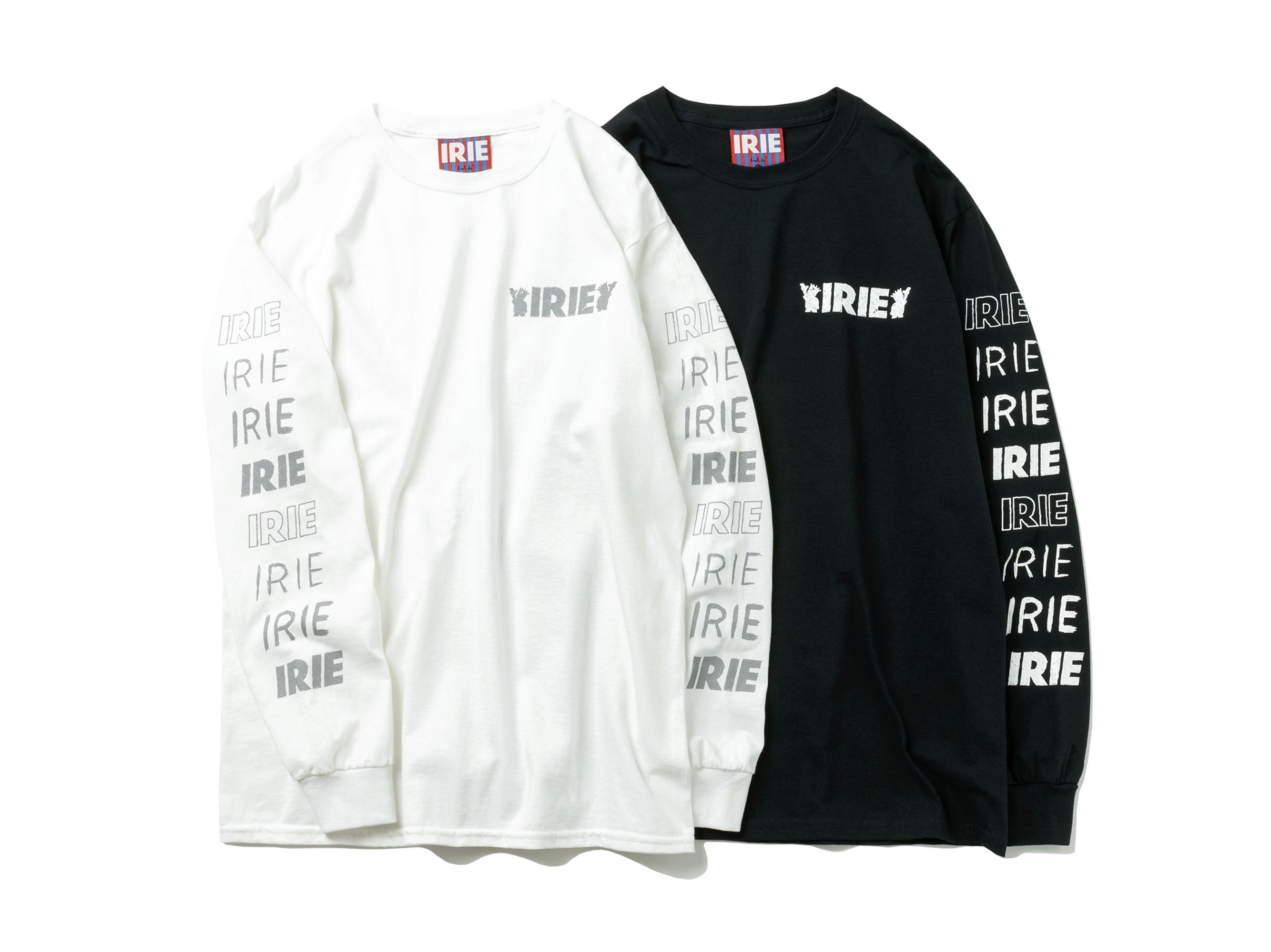 HAND DRAWN L/S TEE - IRIE by irielife